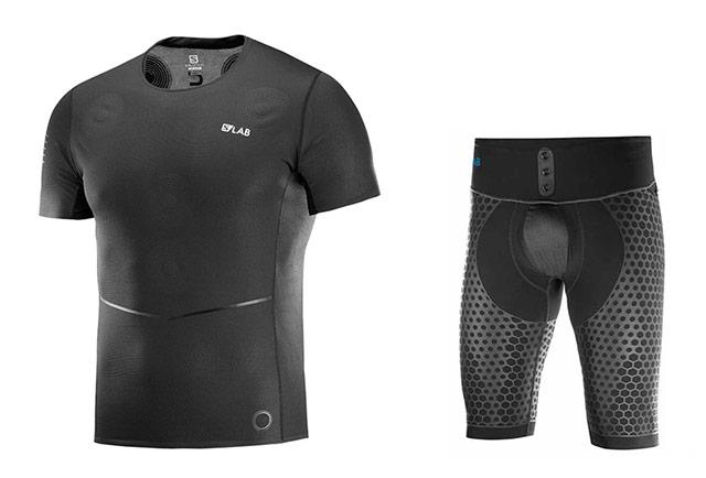 Tekaška majica in kratke hlače Salomon S-Lab