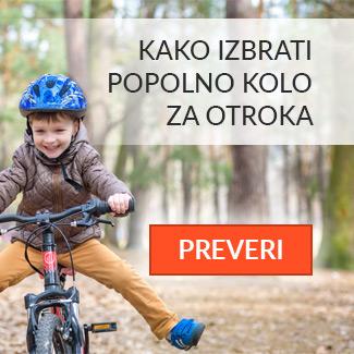 Kako izbrati kolo za otroka