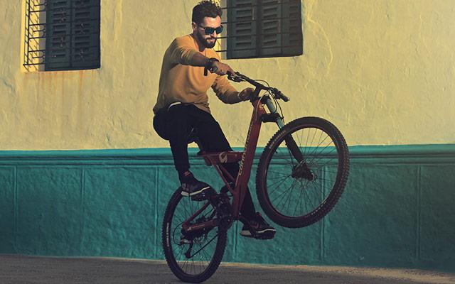 Vožnja po zadnjem kolesu