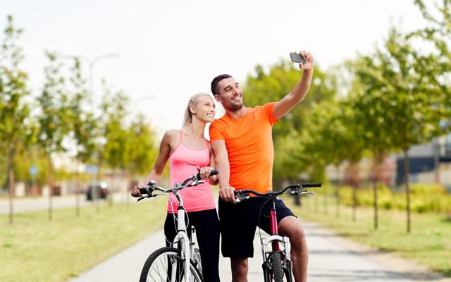 Kolesarjenje za fit postavo