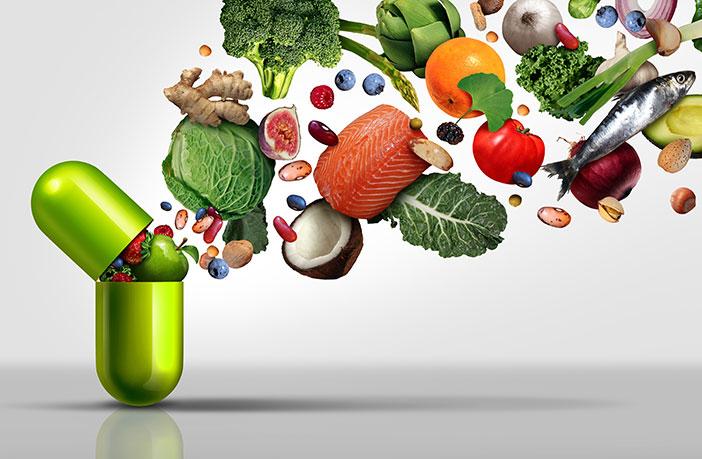 Prehranski dodatki, sadje in zelenjava