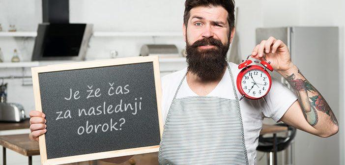 Kdaj jesti zajtrk, kosilo in večerjo?