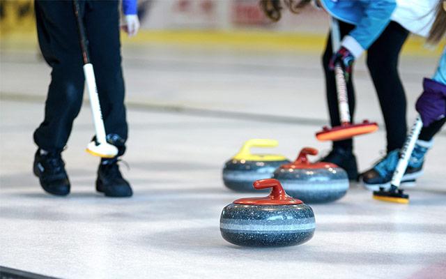 Curling metla