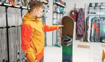 Snowboard deska