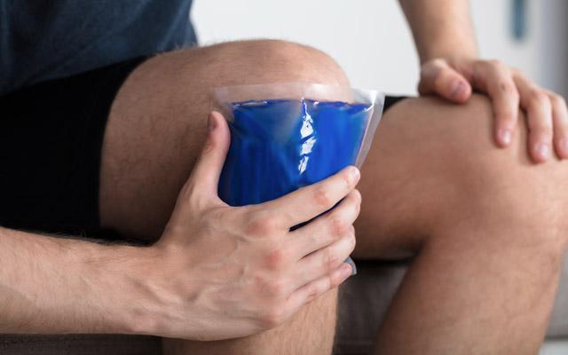 Hlajenje tekaškega kolena