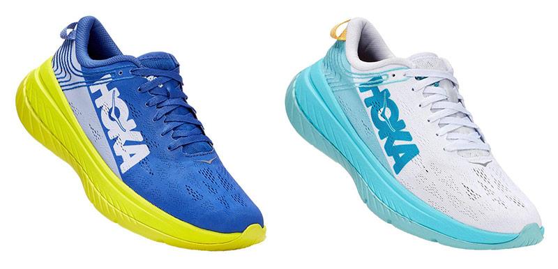 Moški in ženski tekaški čevlji Hoka One One Carbon X