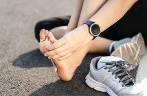 Regeneracija stopal po teku