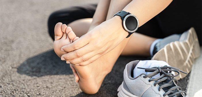 Kako poskrbeti za regeneracijo stopal po teku?