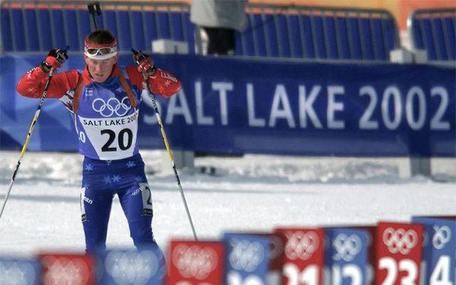 Biatlon na olimpijskih igrah