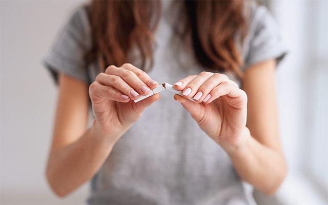 Prenehanje s kajenjem