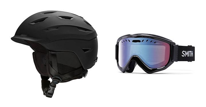 Snowboard čelada in očala Smith