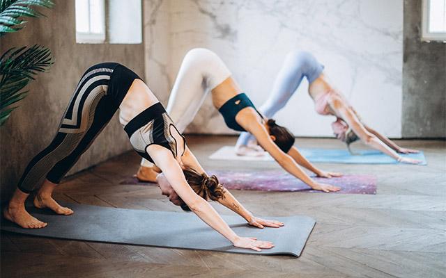Joga - skupinska vadba
