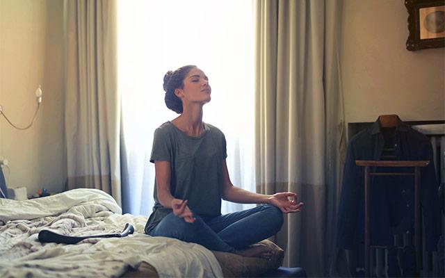 Meditacija zmanjšuje stres